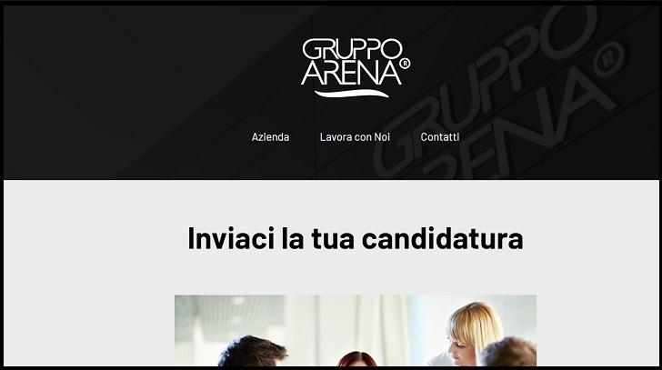 Gruppo Arena Lavora Con Noi Passo 1